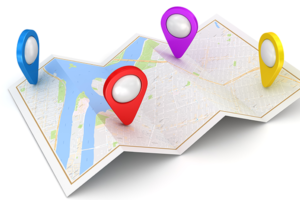 Googleマップで複数の住所を一括表示させる方法